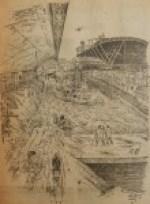 19551231-Vorderingen-nieuwe-Centraal-Station, Verzameling Hans Kaper