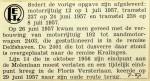 19570730 Nieuwe rijtuigen afgeleverd