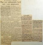 19581119 Plan voor ondergrondse neemt vaste vorm aan