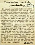 19581227 Tramverkeer met de jaarwisseling (NRC)