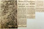19590123 Metro kan 40.000 mensen vervoeren