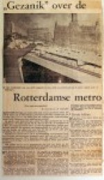 19601123 Gezanik over de metro