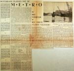 19610826 Rotterdamse plannen met de metro