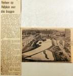 19610826 Verkeer op Hofplein over drie bruggen