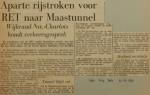 19611006-Aparte-rijstroken-RET-Maastunnel-HVV