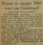 19620919-Trams-in-najaar-1965-weer-op-Coolsingel