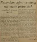 19621121-Rotterdam-oefent-reis-eerste-metro-stuk