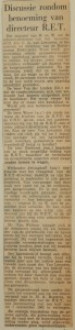 19621231-Discussie-rond-benoeming-directeur