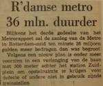 19630315-Metro-op-Zuid-36-miljoen-duurder
