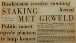 19631116-Staking-met-geweld-Dordtenaar