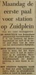 19640310-Maandag-eerste-paal-station-Zuidplein-HVV