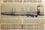 19640704 Metro voor Rotterdam