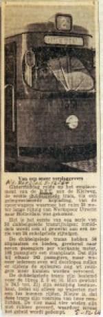 19641205 Eerste gelede tram gearriveerd (AD)