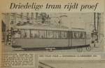 19641210-Driedelige-tram-rijdt-proef-Parool