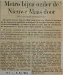 19650403-Metro-bijna-onder-Nieuwe-Maas-door-HVV