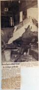 19650727 Bestelauto door tram in etalage gedrukt