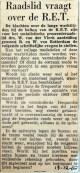 19651218 Raadslid vraagt over de RET