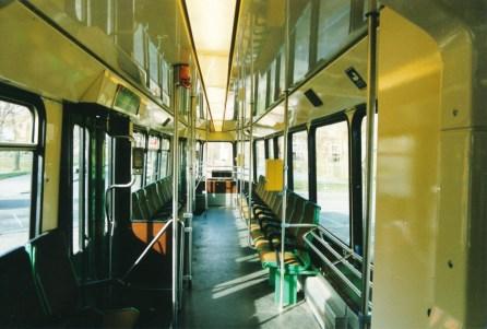 Motorrijtuig 704, met nieuw interieur, 25-3-1995