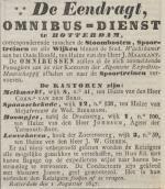 18470803 Omnibusdienst De Eendracht (RC)