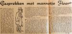19660108 Gesprekken met mannetje Floor