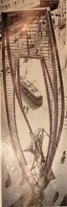 19660301 Naum Gabo Coolsingel (Tussen de rails)
