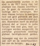 19670120 Nieuwe wachthuisjes.