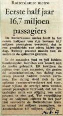 19670814 Eerste halfjaar 16,7 miljoen passagiers