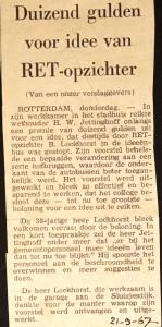 19670921 Duizend gulden voor idee.