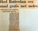 19671212 Heel Rotterdam eenmaal gratis met metro
