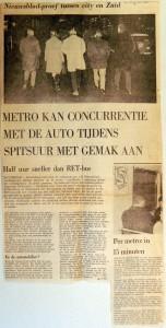 19680104 Metro kan concurrentie met de auto makkelijk aan