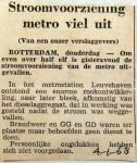 19680104 Stroomvoorziening metro viel uit