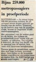 19680110 Bijna 259000 passagiers in proefperiode
