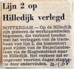 19680110 Lijn 2 op Hilledijk verlegd