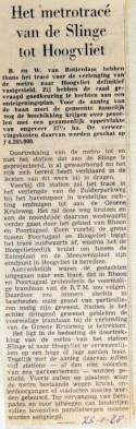 19680123 Het metrotracee naar Hoogvliet