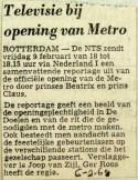 19680206 Televisie bij opening Metro