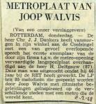19680208 Metro-plaat van Joop Walvis