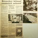 19680208 Metroverkeer helemaal automatisch mekaniek