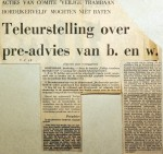19680208 Teleurstelling over pre-advies BenW