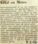 19680208 VeGe en Metro