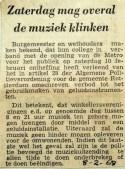 19680208 Zaterdag mag overal de muziek klinken