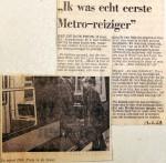 19680213 Ik was echt eerste metroreiziger