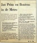 19680216 Jan Prins en Boutens in de metro