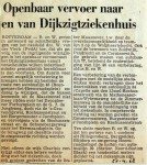 19680427 Openbaar vervoer Dijkzigtziekenhuis