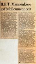 19680429 RET mannenkoor gaf jubileumconcert