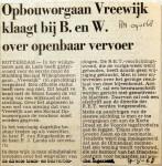 19680509 Vreewijk klaagt over OV bij BenW