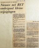 19680524 Nieuwe net RET kleine wijzigingen (Parool)