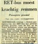 19680719 RET bus moest krachtig remmen