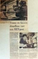 19680719 Trams en bussen draadloos vast aan RET-post (RN)