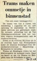 19680730 Trams maken ommetje in binnenstad