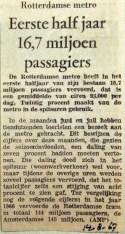 19680814 Eerste halfjaar 16,7 miljoen passagiers